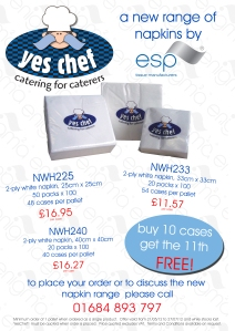 Napkin Promotion from ESP