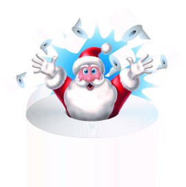 Santa and Loo Roll